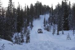 i20 WRC Snow Test 1