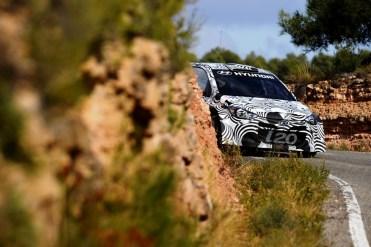 i20 WRC Tarragona Test 1