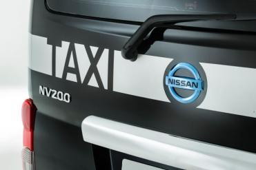 nissan nv200 taxi EV Londres