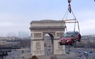 qashqai en l'air Paris