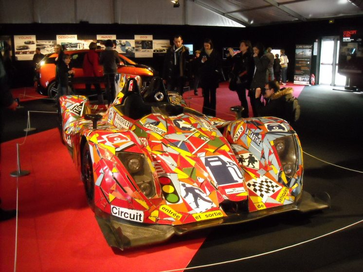 Art Car Nissan LMP2