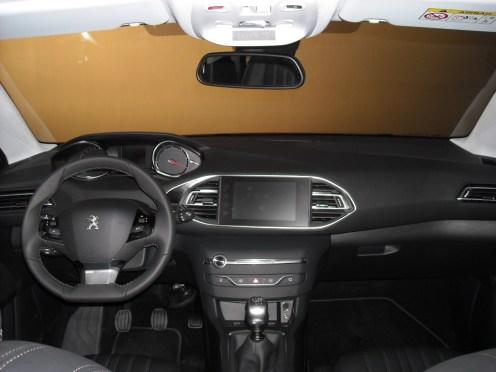 Tableau de bord Peugeot 308 (3)