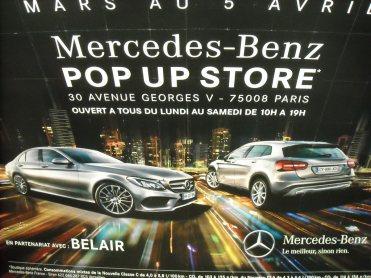 Mercedes Pop Up Store 2014 George V (2)