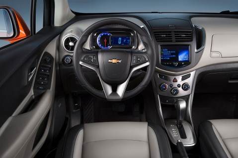 2015 Chevrolet Trax Close-up of Interior