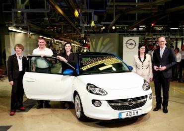Opel - 3 millions d'autos produites à Eisenach