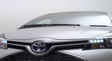 Toyota Yaris restylée 2014