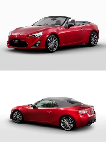 Toyota FT86-Convertible