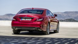 Mercedes-Benz CLS rear view-HD