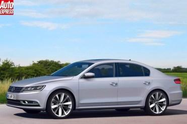 VW Passat 2015 par AutoExpress.1