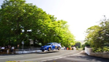 subaru bat son record sur l'ile de Man