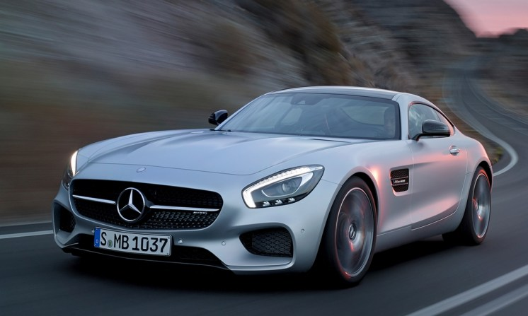 Mercedes benz AMG GT.31
