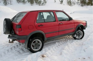 Volkswagen Golf Country Syncro 1990