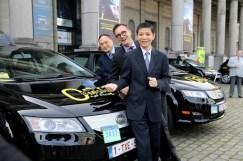 BYD vend des taxis à Bruxelles