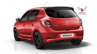 Renault-Sandero-Sport-Rouge Arrière