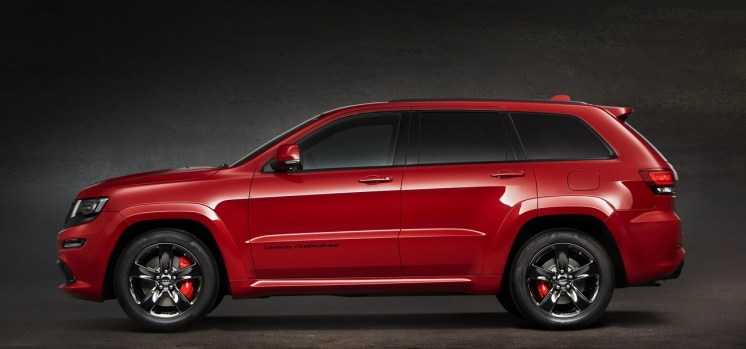 jeep grand cherokee srt red vapor special edition