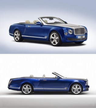 Bentley Grand Convertible concept vs Rolls Royce Drophead Coupé