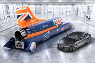 F-Type AWD et Bloodhound SSC