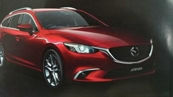 Mazda 6 ou Atenza 2015 restylée.3