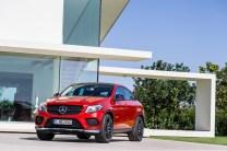 Mercedes Benz GLE Coupé 2015.2