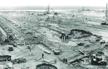 Sur la zone industrialo-portuaire du Havre