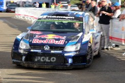 AS VW POLO WRC STANDS