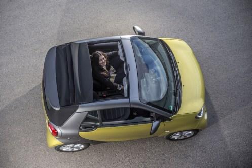 Smart ForTwo Cabrio 2015 - Jaune - 42