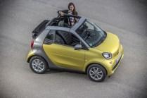 Smart ForTwo Cabrio 2015 - Jaune - 43