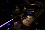 Ambiance nuit Mercedes Classe E