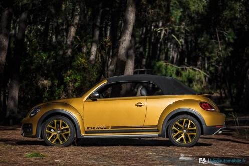 Essai Volkswagen Coccinelle Dune Cabriolet