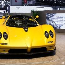 Salon de Genève 2017 (GIMS) - Pagani Zonda C12 S Roadster