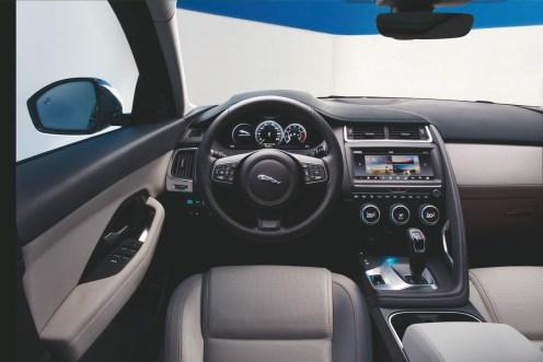 Nouveau SUV Jaguar E-PACE 2017 - Interieur