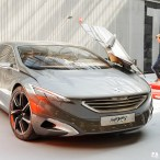 Visite Usine PSA - Vélizy (ADN) - Concept Peugeot HX1