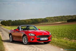 Essai Fiat 124 Spider - Photos