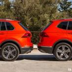 Comparatif Volkswagen Tiguan et Allspace (5 places - 7 places)