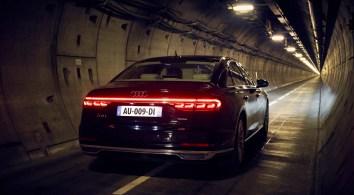 Audi A8 - Tunnel sous la manche - 1