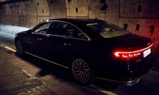 Audi A8 - Tunnel sous la manche - 7
