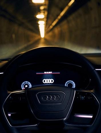 Audi A8 - Tunnel sous la manche - 8