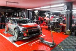 Immersion team Citroën Racing - Rallye Monte Carlo 2018