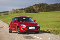 Essai Suzuki Swift (Pack Auto)