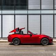 Essai Mazda MX-5 RF (cabriolet) 2018