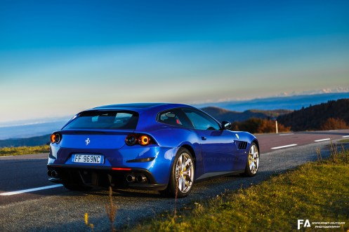 Essai roadtrip en Ferrari