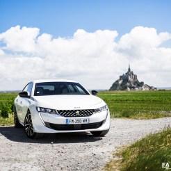 Essai Peugeot 508 Hybrid (hybride 225 2020)