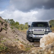Essai nouveau Land Rover Defender P400 110