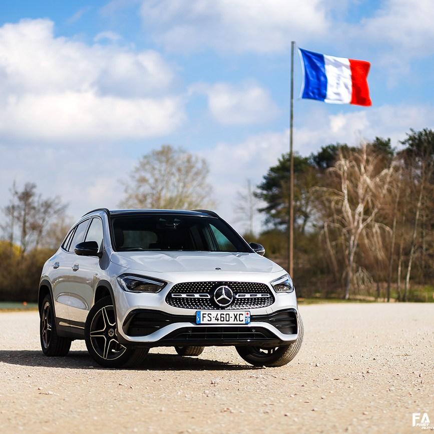 Essai Mercedes GLA 250e
