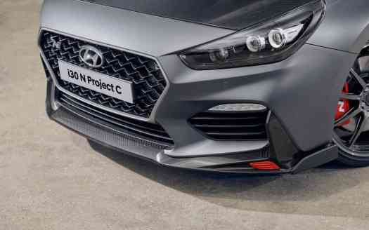 Hyundai i30 N Project C - Frontale