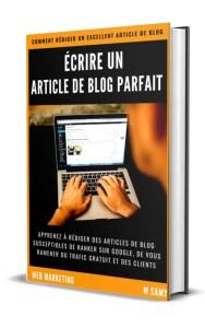 pdf rediger un article de blog parfait