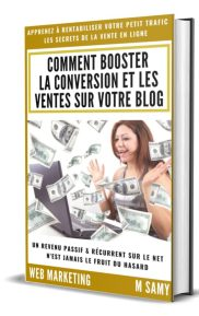 Livre por booster la conversion sur son blog