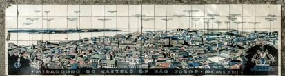 Fred Kradolfer | Leitor Panorâmico | Lisboa | Castelo de S. Jorge | 1963 [Foto: © CML | DPC | José Vicente 2015]