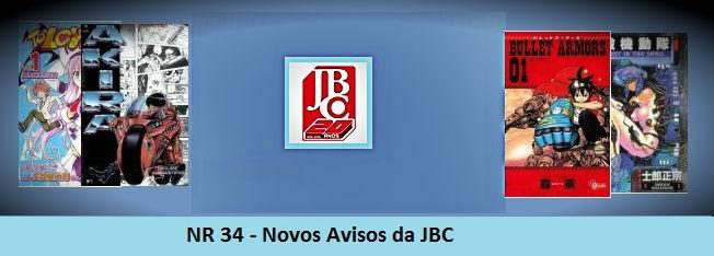 NR 34 – Novos avisos da JBC