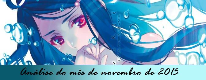 Análise do mês de novembro de 2015